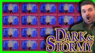 MASSIVE WINNING on Dark & Stormy Slot Machine W/ SDGuy1234