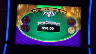 Joker's Head or Tails Poker Slot Machine Bonus - Big Win!