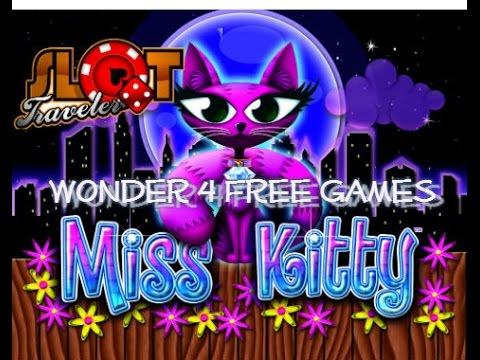 MISS KITTY Wonder 4 - Free Games & Re-Trigger ♠ SlotTraveler ♠