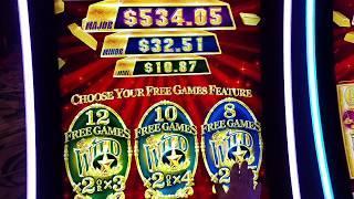 Double Bonus !! Aristocrat Gold Bonanza Slot machine Free spin bonus slot machine Pokie