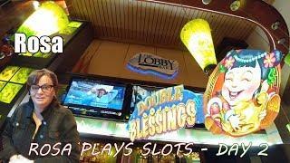 • Rosa Plays Slots - Day 2 - Rosa Elliiott - Rob - The Shamus of Slots - $120 •