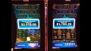 •ULTIMATE FIRE LINK •$20 SPINS (2) HANDPAYS •CHINA STREET