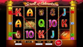Scroll Of Adventure• online slot by SoftSwiss video preview""