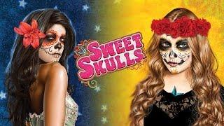 Happy Halloween! Sweet Skulls - max bet live play w/ 2 bonuses - Slot Machine Bonus