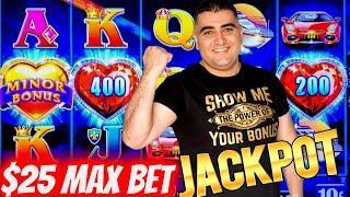 High Limit Lock It Link Slot Machine HANDPAY JACKPOT   Las Vegas Casino JACKPOT   SE-7   EP-6