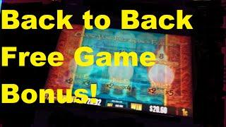 Dragon Of the Eastern Ocean back to back free game Bonus WINS!