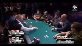 World Series Of Poker 2014 - Trip Aces Vs Trip Aces (WSOP 2014)