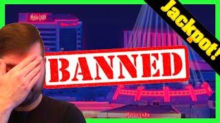 I WON A MASSIVE JACKPOT HAND PAY SO THEY BANNED ME FROM THE CASINO!