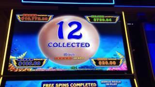 Lightning Link slot machine bonus round