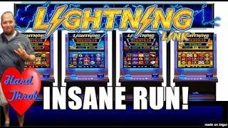 •INSANE RUN ON LIGHTNING LINK!• •HEART THROB•