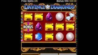 Davinci Diamonds Mobile Bonus - William Hill Games