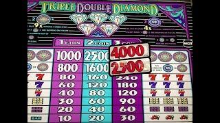 BIG WIN LIVE•Triple Double Diamond $1Slot Max Bet $3, Free Play at San Manuel, Akafujislot