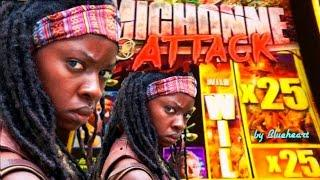 •RARE 25x HUGE WIN• The WALKING DEAD 2 slot machine BONUS and HUGE WINS!
