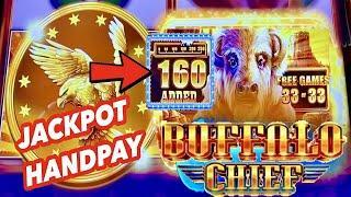 JACKPOT HANDPAY!⋆ Slots ⋆EPIC! BUFFALO CHIEF SLOT! 160 BUFFALO HEADS ADDED!⋆ Slots ⋆ HO CHUNK GAMING MADISON!