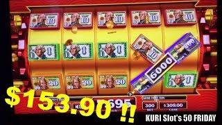 •KURI $LOT $ERIE$ 50 FRIDAY #3•Fun Slot Live Play•Quick Fire Flaming/Crazy Money /Ming Warrior Slot栗