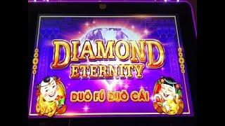 "•First Attempt !•DIAMOND ETERNITY ""Duo Fu Duo Cai"" (WMS) Slot Free Play Live & The Voice & BG•彡栗スロット"
