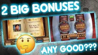 2 BIG BONUSES, Any Good????