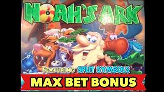 •️NOAH'S ARK MAX BET•️1ST LIVE PLAY AND GREAT BONUS SESSION