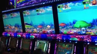 Paradise Fishing slot machine group bonus games