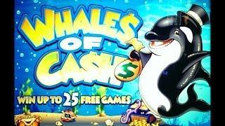Whales of Cash Slot Bonus BIG WIN - Aristocrat