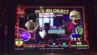 Hangover Pretty Awesome Slot Machine Tiger Picking Bonus Cosmopolitan Casino Las Vegas