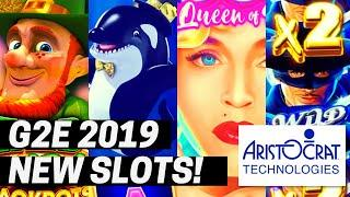 •G2E 2019• ARISTOCRAT 2019-2020 NEW SLOTS SHOWCASE | GLOBAL GAMING EXPO