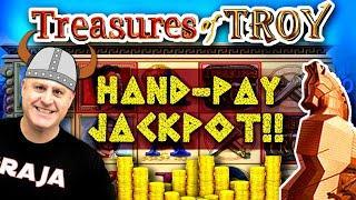 ★ Slots ★ MASSIVE High-Limit Slot Play = HANDPAY JACKPOT ★ Slots ★★ Slots ★ EPIC Comeback On Treas