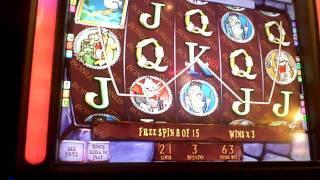 Creepy Cash Bonus Win on penny slot machine