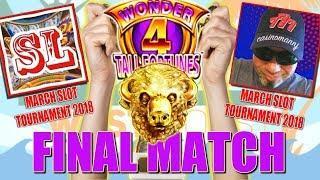 •HUGE FINAL MATCH •️Tower 4 Tall Fortunes •Casinomannj vs Slot Lover