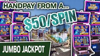 ⋆ Slots ⋆ $50 SPIN Got Me A JACKPOT HANDPAY ⋆ Slots ⋆ High-Limit LAS VEGAS SLOTS For The WIN