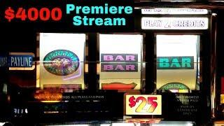 •$4000 LIVE PREMIERE in the HIGH LIMIT Room | $10-$50 Bets | Double Diamond  |Quick Hits & MORE !
