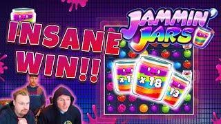 RECORD WIN!!! Jammin Jars Big win - Casino - free spins (Online Casino)