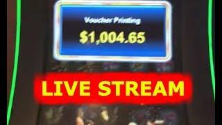• LIVE STREAM AT PARX CASINO •  HIGH LIMIT • MAX BET • BIG WINS • SLOTS •