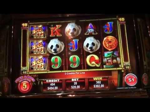 Panda king high limit slot bonus win