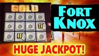 ** HUGE JACKPOT** TWIN WIN 2 slot machine wins and FORT KNOX PROGRESSIVE JACKPOT WIN