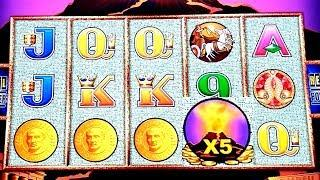 WONDER 4 TOWER  Pompeii Slot Machine Max Bet Bonuses Won | Live Slot Play w/NG slot