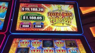 Making nearly $1,000 in 30 seconds on Lock it Link Slot Machine