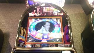 original Elvis top 20 slot gold disc feature