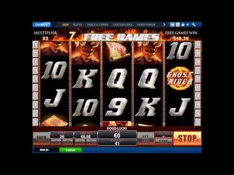 Ghost Rider Slot - 20 Free Games!