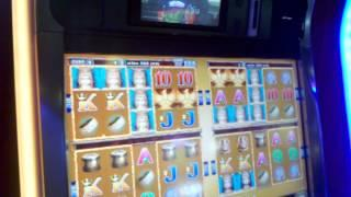 Aristocrat Wonder 4 Super Free Games $11 bet HUGE WIN Fire and Light