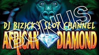 •African Diamond Slot Machine •  •BONUS FREE SPINS• •King's Club Casino •