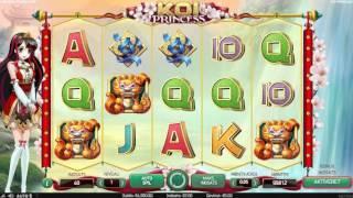 Koi Princess spillemaskine fra NetEnt – Spil med rigtige penge