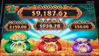 •NEW GAME Nice Profit•FU DAI LIAN LIAN DRAGON Slot (Aristocrat)  $225.00 Free Play Live $4.40 Bet•彡栗