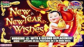 New Year New Wishes slot machine   Happy New Year