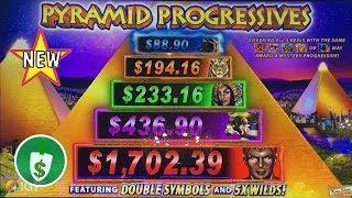 •️ NEW - Pyramid Progressives slot machine, big fail