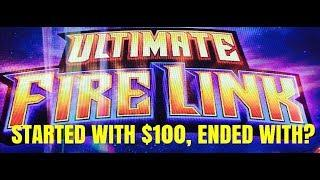 STARTED WITH $100! ENDED WITH? ULTIMATE FIRE LINK