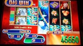 JACKPOT HANDPAY!  Mystical Dragons 20 FREE SPINS $7.50 MAX BET High Limit Slot Machine Part 1