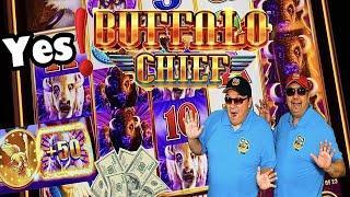 BUFFALO CHIEF SLOT MACHINE⋆ Slots ⋆YES! GOT PAID!⋆ Slots ⋆$5.00 MAX BET BONUSES!⋆ Slots ⋆ CHOCTAW CASINO!