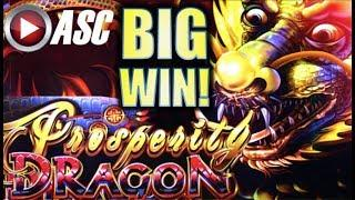 •BIG WIN! DOUBLE DRAGON ACTION!• PROSPERITY DRAGON & ACTION DRAGONS Slot Machine Bonus (AINSWORTH)