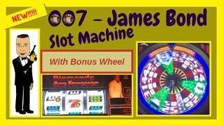 •NEW! James Bond 007 Slot Machine Live Play•